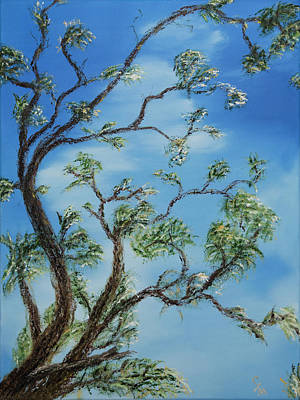 Painting - Jim's Tree by Stephen Daddona