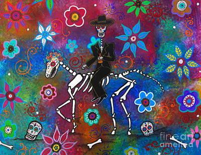 Painting - Jinete De Mariachi by Pristine Cartera Turkus
