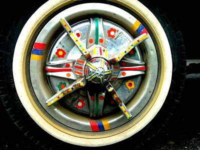 Photograph - Jinga Art On Wheel by Fareeha Khawaja