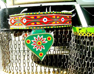 Photograph - Jingly Truck Art by Fareeha Khawaja
