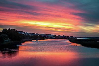 Photograph - Jinks Creek Sunset by Gerald Monaco