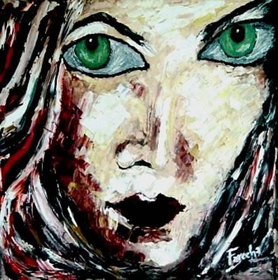 Painting - Jinxed by Fareeha Khawaja