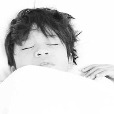 Wall Art - Photograph - Sleep Boy by Lee Ji Hyun