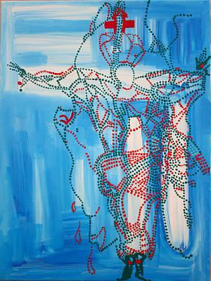 Painting - Jishu Christo - Jesus Christ by Gloria Ssali