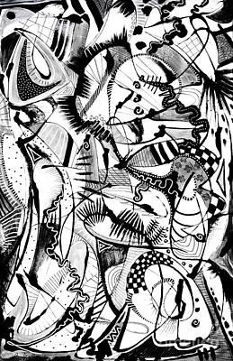 Painting - Jitterbug V by Expressionistart studio Priscilla Batzell