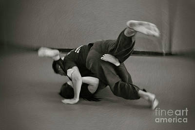 Jiu Jitsu Art Print