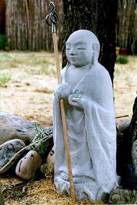 Bodhisattva Photograph - Jizo Bodhisattva - Children's Protector by Dagmar Batyahav