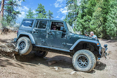 Photograph - Jku Rubicon 2 by Tony Baca