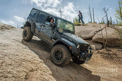 Photograph - Jku Rubicon by Tony Baca