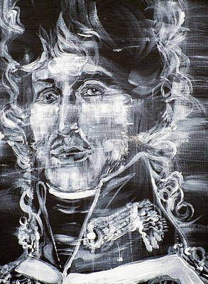 Painting - Joachim Murat - Acrylic Portrait by Fabrizio Cassetta
