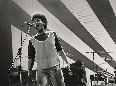 Singers Photograph - Joan Armatrading 1 by Philippe Taka