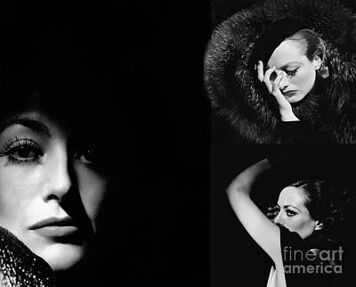 Photograph - Joan Crawford Art by Doc Braham