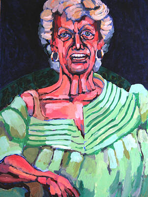 Painting - Joan Kierkegaard by Doris  Lane Grey