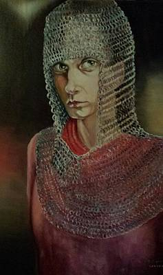 Painting - Joan Of Arc by Rosemary Kavanagh