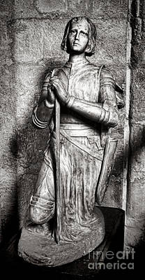 Photograph - Joan Of Arc Sculpture by Olivier Le Queinec