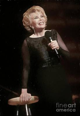 Photograph - Joan Rivers Painting by Concert Photos