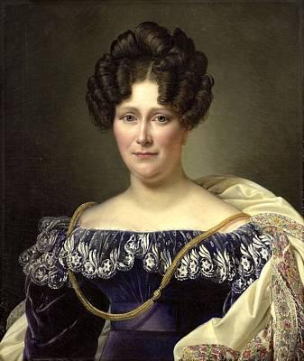 Dubois Painting - Joanna Genrietta by Jean Dubois
