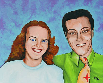 Joanne And Daniel Junod Art Print by David Junod