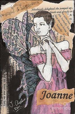 Mixed Media - Joanne Fairy by Joanne Claxton
