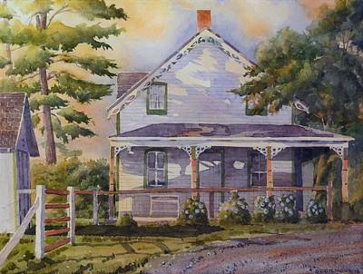 Painting - Joanne's House by David Gilmore