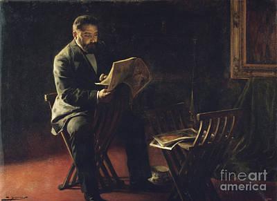 Cabot Painting - Joaquim Cabot I Rovira by MotionAge Designs