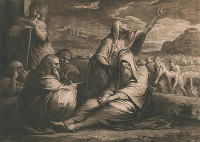 Relief - Job Reproved By His Friends by James Barry