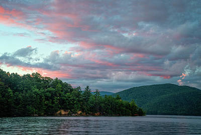 Photograph - Jocassee 9 by David Waldrop