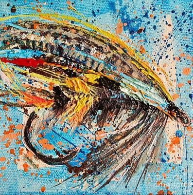 jock Scott Fly Mini Art Print