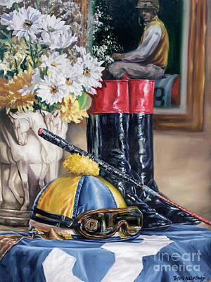 Jockey Still Life Art Print by Thomas Allen Pauly
