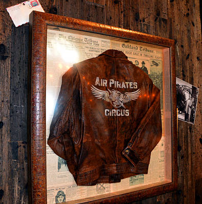 Photograph - Jock's Air Pirates Jacket by David Lee Thompson