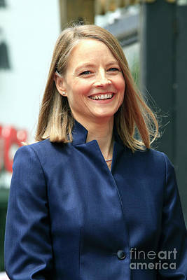 Jodie Foster Art Print by Nina Prommer