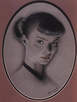 Jodie Kidd Art Print