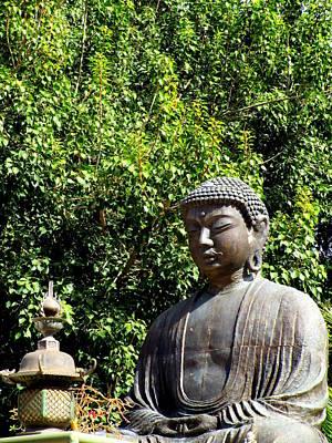Lord Buddha Photograph - Jodo Mission Lahaina 10 by Randall Weidner