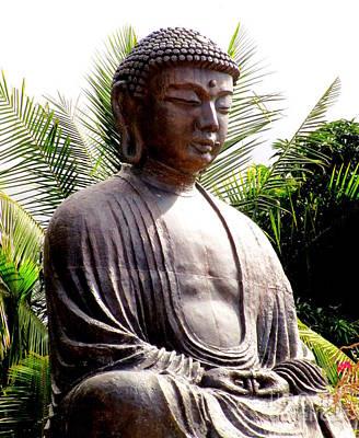 Lord Buddha Photograph - Jodo Mission Lahaina 7 by Randall Weidner