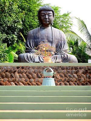 Lord Buddha Photograph - Jodo Mission Lahaina 9 by Randall Weidner