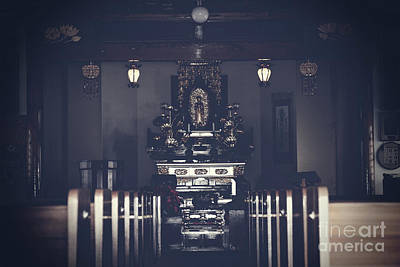 Photograph - Jodo Shu Chion-in Japanese Style Temple Lahaina Maui Hawaii by Sharon Mau