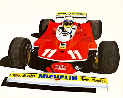 Jody Scheckter's 312t Original by Robert Quisenberry