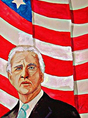 Joe Biden Wall Art - Painting - Joe Biden 2010 by Ken Higgins