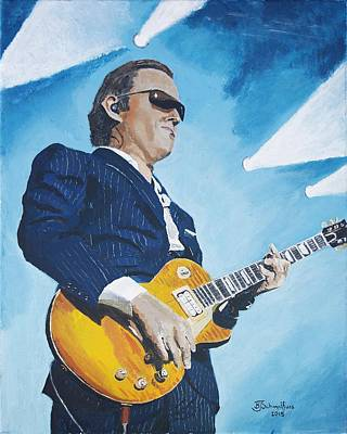 Painting - Joe Bonamassa by Bruce Schmalfuss