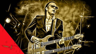 Joe Bonamassa Collection Art Print