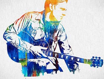 Music Paintings - Joe Bonamassa by Dan Sproul