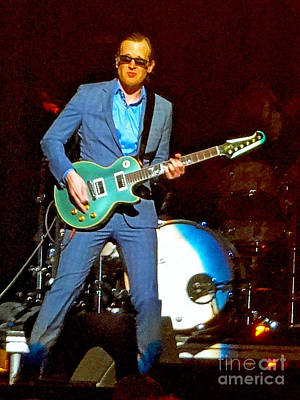 Joe Bonamassa Photograph - Joe Bonamassa - Live Performance In Eugene Oregon. 2 by Tanya Filichkin