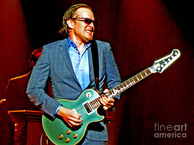 Joe Bonamassa Photograph - Joe Bonamassa - Live Performance In Eugene Oregon. 3 by Tanya Filichkin