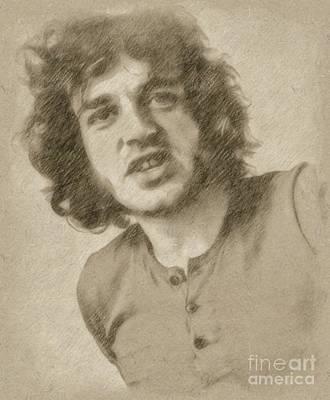 Fantasy Drawings - Joe Cocker, Singer by Frank Falcon