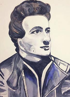 Joe Strummer Painting - Joe by Edith Jimenez