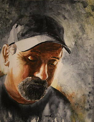 Painting - Joe by Jerry Frech