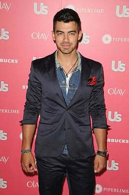2010s Fashion Photograph - Joe Jonas Wearing A Calvin Klein Suit by Everett