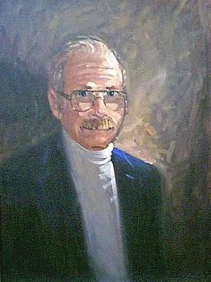 Painting - Joe Kearnan by Len Stomski