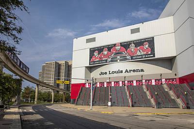 Photograph - Joe Louis Arena Detroit  by John McGraw
