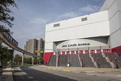 Photograph - Joe Louis Arena  by John McGraw